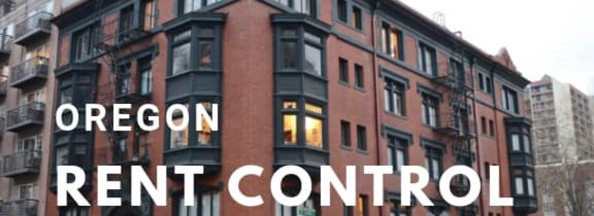 Oregon Rent Control